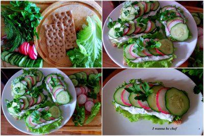 Весенний бутерброд