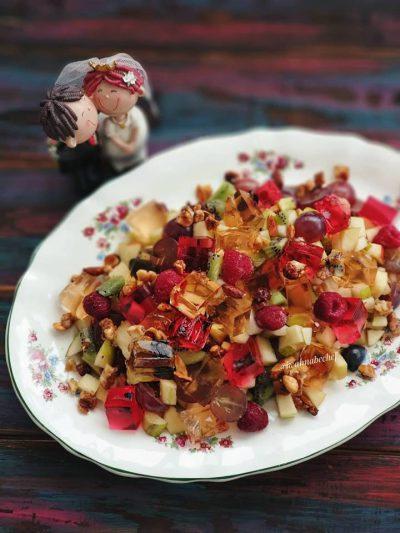 фруктовый салат самоцветы