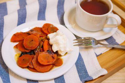 ЦИМЕС – сладкое овощное рагу из моркови и сухофруктов