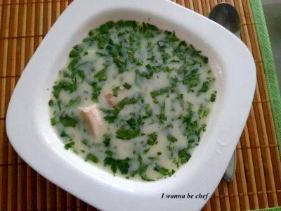 Грузинский суп Чихиртма