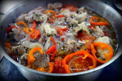Хашлама. Армянская кухня.