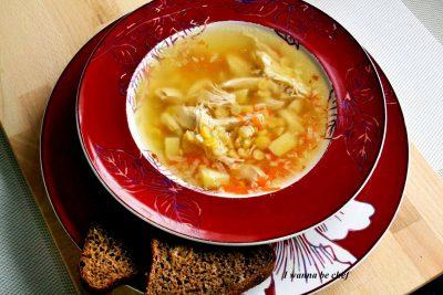 Гороховый суп (диетический)
