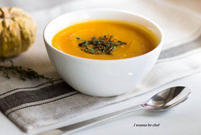 Тыквенно-морковный суп «Натали»