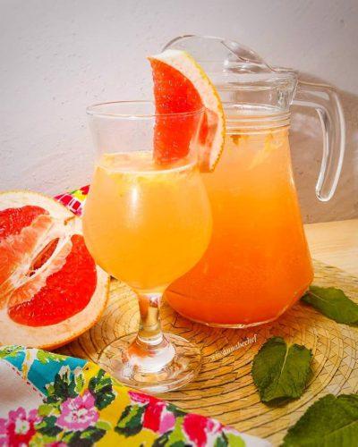 Грейпфрутовый лимонад